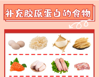 补充胶原蛋白的食物大起底 速查速用
